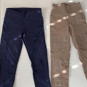 2 pairs of Alo Yoga pants size XXS - lightly worn